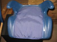Child's car booster safety seat