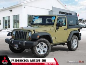 2013 Jeep Wrangler Sport 4X4 | 6-SPEED | 2 DOOR | ALLOYS
