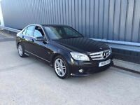 2010 60reg Mercedes-Benz C Class 2.1 C250 CDI BlueEFFICIENCY Sport AUTO c220 **high miles**1 owner