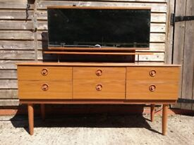 1970's Vintage dressing table / Retro furniture