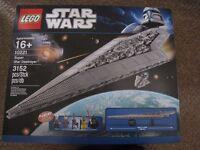 Lego STAR WARS UCS 10221 SUPER STAR DESTROYER . Mint in sealed box. RETIRED SET