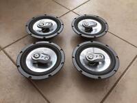 FLI 6.5 inch car speakers x4