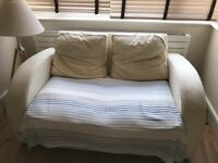 Free Set of sofas: three-man sofa bed and matching two-man sofa