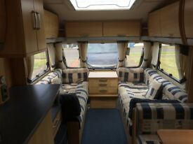 Sterling 4 berth 2006 Caravan with mover