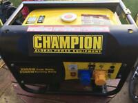 Champion CPG3500 198cc petrol generator.