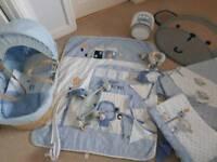 Next cheeky monkey nursery set good condition, curtains, bedding, light shade, bunting, mat