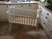 Mamas and papas swinging crib/ cradle