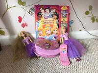 Disney princess Rapunzel toy bundle