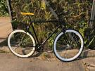 No logo fixed gear flip flop wheel fixie bike
