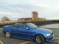 Bmw e46 estoril blue convertible