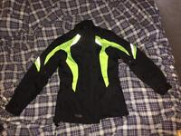Motor bike jacket and trousers Xs , worn once