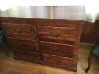 solid wood chest of drawers beautiful piece