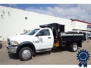 2013 Ram 5500 SLT 3 Passenger 4WD Regular Cab Dump Body Truck