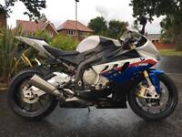 BMW S1000RR SPORT ABS 2010 MOTORSPORTS 5024 MILES FULL BMW SERVICE HISTORY