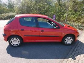 Peugeot 206 manual transmission 1.1cc 120k MOT to August runs and drives well got to go