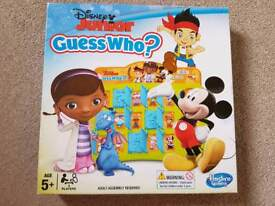 Guess who? Game for children Disney