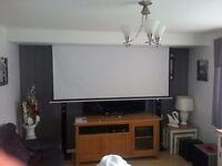 Optoma HD26 Full HD 3D Entertainment Projector + Screen etc.