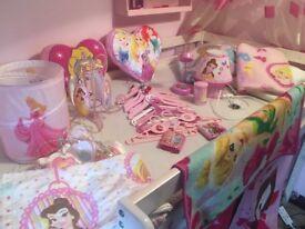 Girls princess items