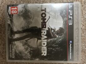 Tomb Raider PS3 game. Very good condition. Played once