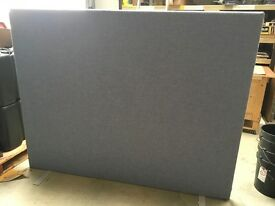 Self supporting office screen, 180cm x 140cm