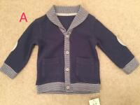 Baby Cardigans various sizes (individually priced)