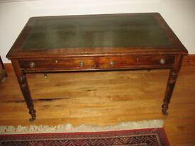Antique Victorian Mahogany writing table-desk