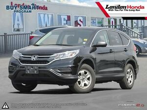 2015 Honda CR-V LX One owner vehicle, Originally purchased at...