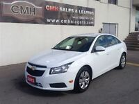 2013 Chevrolet Cruze LT TURBO AUTO LOADED *CERTIFIED*
