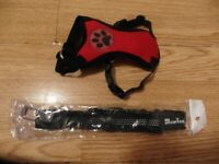 SlowTon Dog Car Harness Seatbelt NEW Set