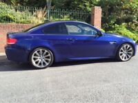 BMW M3 4.0 V8 2008 2 owners 48000 fbmwsh ful year mot fullyserviced mint car mint condition may px