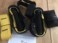 Fitness equipment, weight suspension trainer