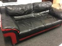 Leather sofa can deliver