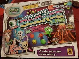 Science set and crystal making sets