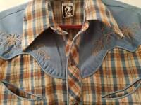 Genuine Vintage Karman western shirt
