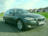 BMW 520d se efficent dynamics saloon 2011 model,97k fsh,long mot,full leather,real beautiful example