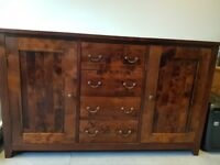 Next Solid wood sideboard - Excellent Condition
