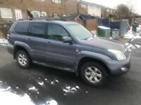 Toyota Land Cruiser Lc5 3.0 D4D 2006 top spec fully loaded full service history sunroof