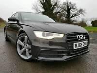 Nov 2013 Audi A6 2.0 Tdi S Line Black Edition 177bhp, FASH! STUNNING EXAMPLE! GREAT SPEC!
