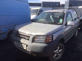 Land Rover Freelander petrol spare parts available