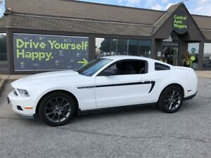 2012 Ford Mustang V6/3.7L Ti-VCT V6 engine with 305 hp/ 17 RIMS