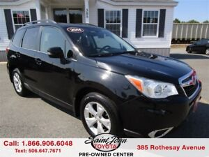 2014 Subaru Forester 2.5i Limited Package $155.28 BIWEEKLY!!!