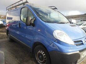 NISSAN Primestar Dci 115 SE SWB Panel Van, 2 Ltr Diesel, 1 Owner From New, 2007-07 Plate