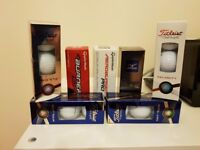 GOLF BALLS (Brand New in Boxes)