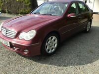 2004 Mercedes c220cdi auto years mot full service history super car trade in considered cookstown
