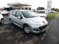 Peugeot 207 HDI SW ACTIVE (silver) 2013