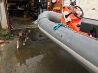 Avon Sea Rider SR4 4.0m RHIB RIB Boat 50HP