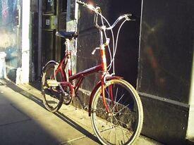 Triumph retro folding style bike