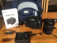 Canon eos 700D with 18-55mm lense included