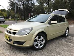 2005 Holden Astra CDX Auto LOW KS LOGBOOKS Long Rego 2 Keys Mags Sutherland Sutherland Area Preview