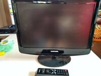 Samsung 20 inch lcd tv/monitor with remote